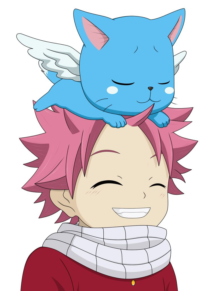 Natsu and happy by on deviantart - Fairy tail happy and natsu ...