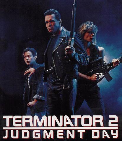 Terminator 2: Judgment Day (1991). Arnold Schwarzenegger, Linda Hamilton, Edward Furlong, Robert Patrick. Sci-fi   Action.