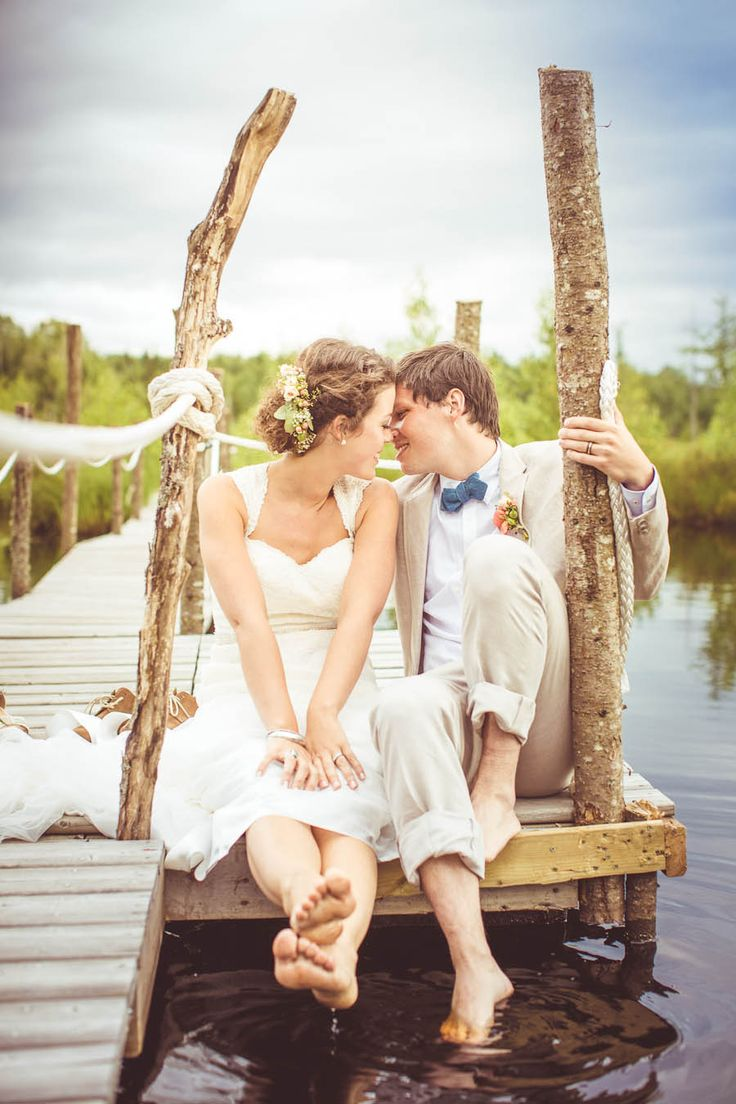 DIY Quebec Wedding at Cheshire Lodge from Junophoto