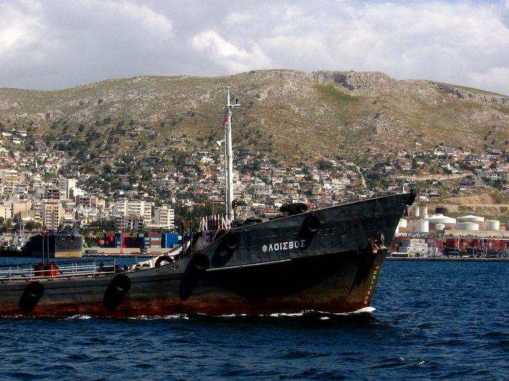 Καραβάκι Πειραιάς Σαλαμίνα 1 (Σοφία Τσάδαρη)