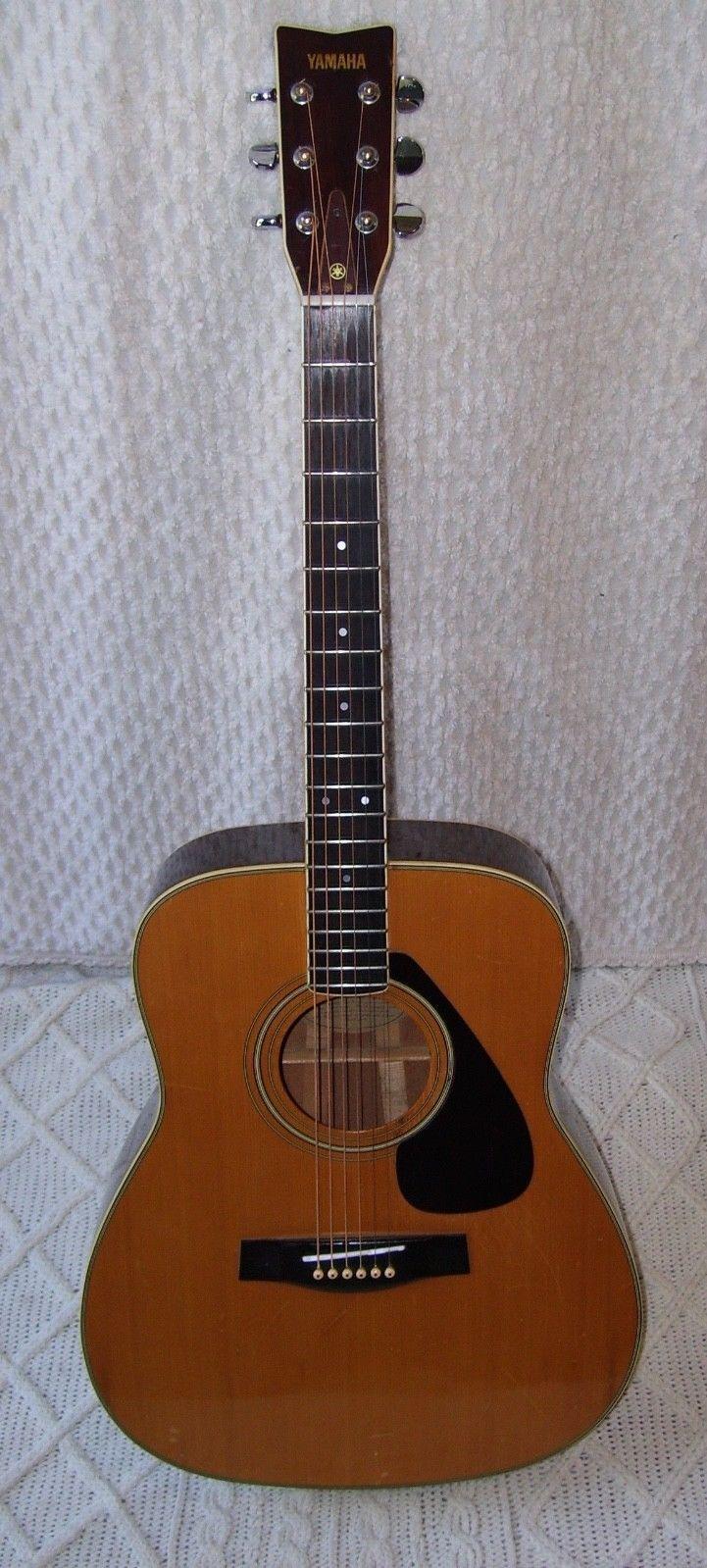 #guitar Yamaha Acoustic Guitar Vintage FG340 please retweet