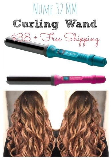 nume 32 MM Curling Wand 38 shipped