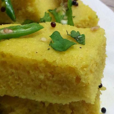 The much awaited....Quinoa Dhokla!