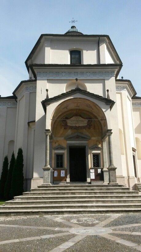 La facciata del Santuario, #sacrimontisocial