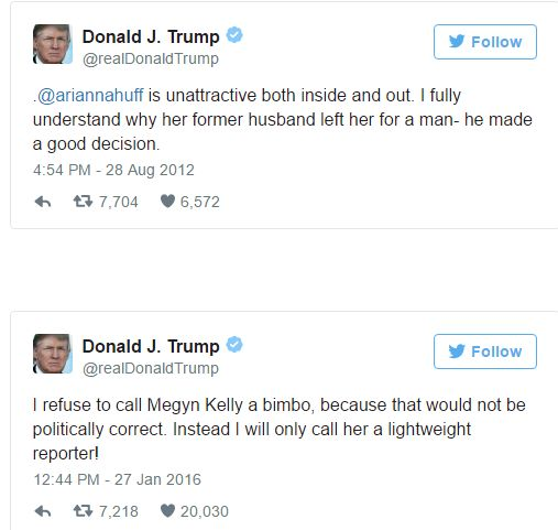 Donald Trump's Most Outrageous Tweets Of All Time - http://viralfeels.com/donald-trumps-most-outrageous-tweets-of-all-time/