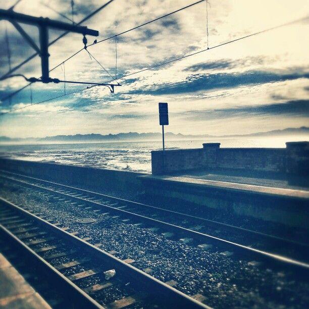 Kalk Bay station, False Bay coast, Western Cape