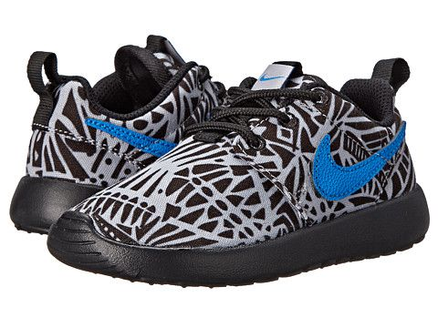 check out 7ad8c 2d9ec ... ireland nike kids roshe run print toddler little kid wolf grey black  white photo blue zappos