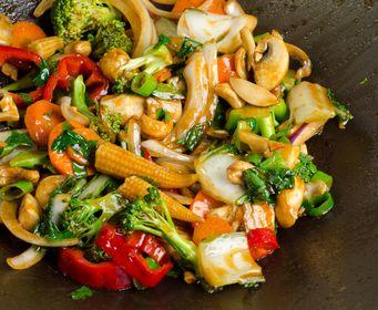 Oppskrift wok med kylling