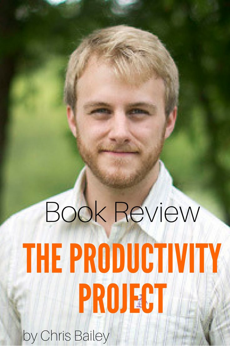 Book Review on The Productivity Project by Chris Bailey