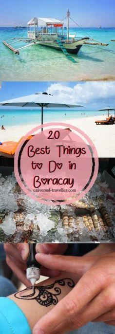 Best Things To Do In Boracay, Philippines. This Boracay guide provides tips on things to do in Boracay, what to do in Boracay, where to go in Boracay, activities in Boracay and tourist attractions in Boracay. Find here the best things to do in Boracay and the most interesting Boracay Tours.