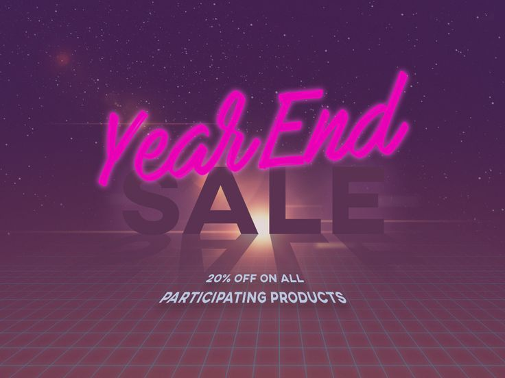 Year End Sale ends today! Hurry, order stickers now and avail 20% OFF of our select products!