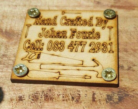 Branding on crates
