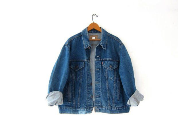 Vintage LEVIS Jean Jacket. Denim Jacket. Worn in Levis Jacket.