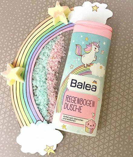 Einhorn-Trend: Es gibt bald Einhorn-Duschgel von Balea
