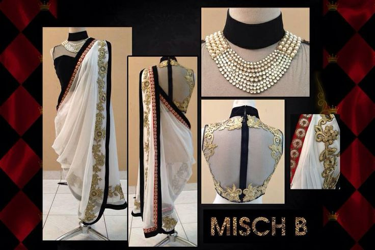 Pant saree - MischB Couture
