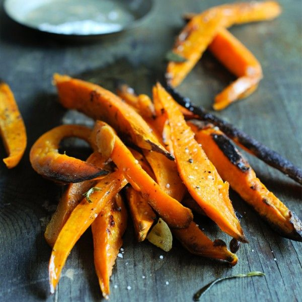 Healthy Snacks Under 200 Calories: Spicy Sweet Potato Fries-Shape Magazine