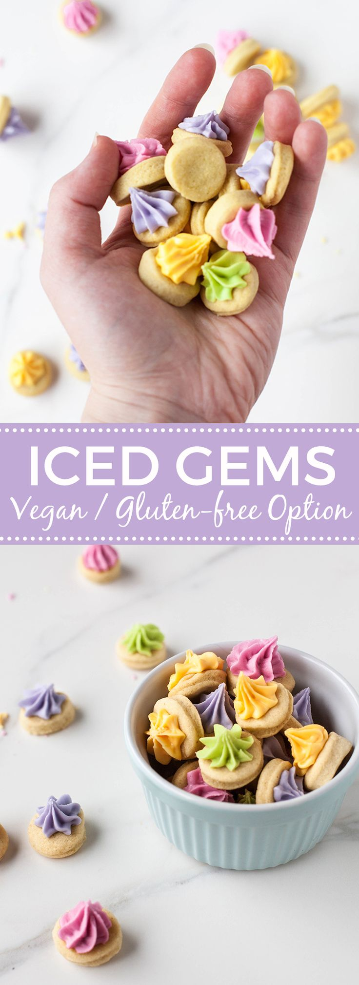 Vegan Iced Gems                                                                                                                                                     More