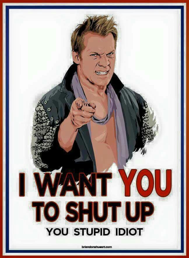 Jericho has been hilarious since turning heel again. Although the scarves have gotta go.