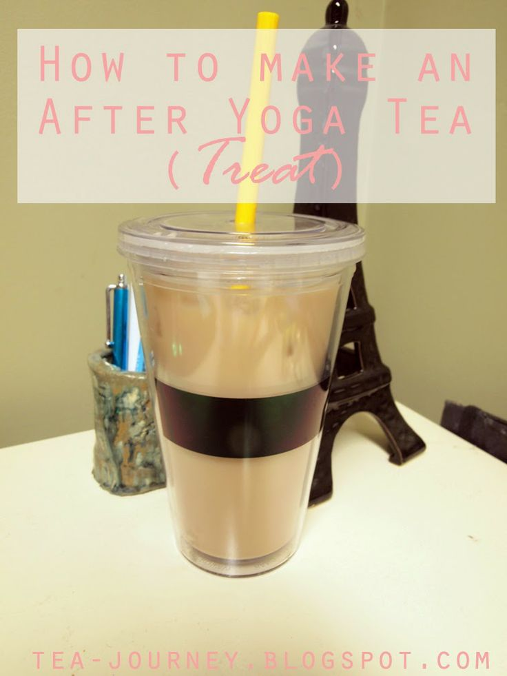 HOW TO MAKE AFTER YOGA TEA (TREAT) - Really helps you take your inner calm off the mat (even if its just for a little while longer) #yoga #tea