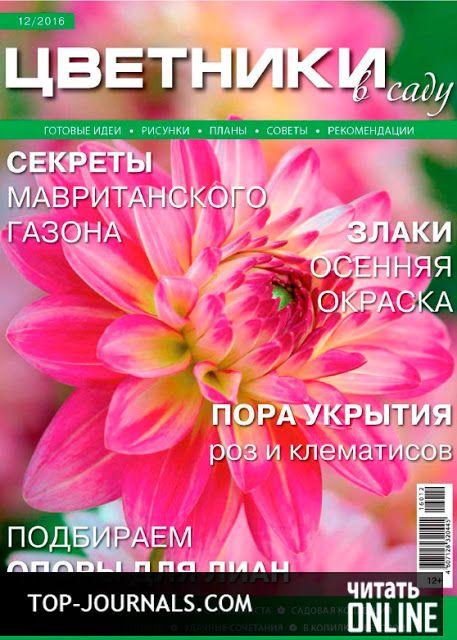 журнал Цветники №12 декабрь 2016 читать онлайн