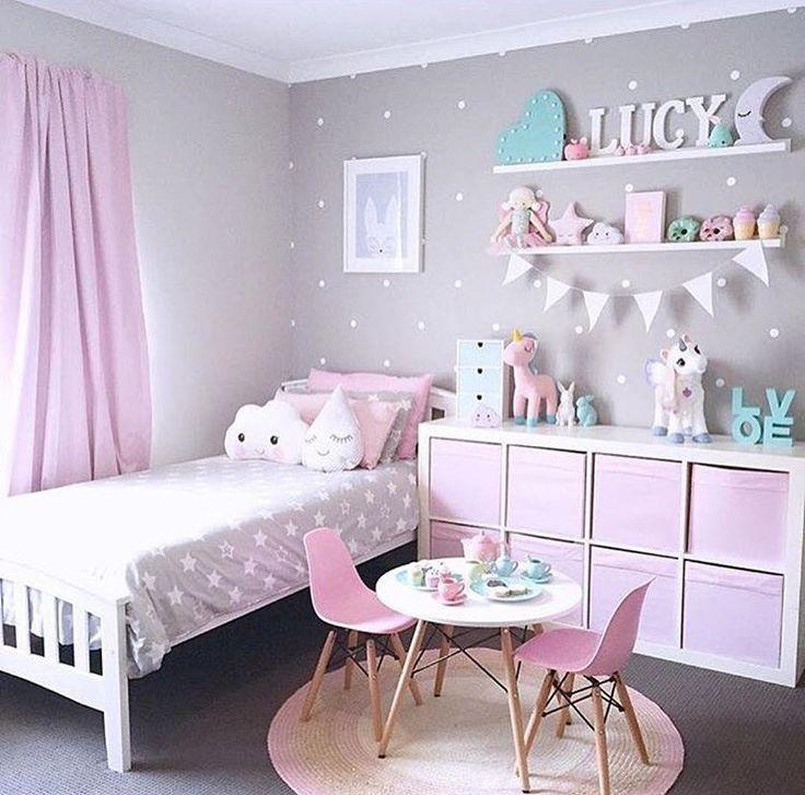 Girls room colour