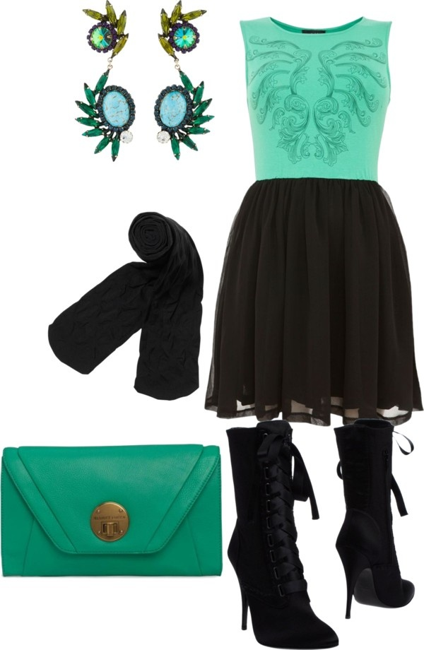 """""""Turquiose Twirl"""" by shannon-elizabeth-brunt-wall on Polyvore"""