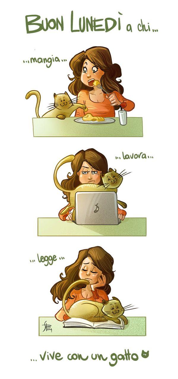 Illustrations for boring monday mornings | 2014 by simona bonafini, via Behance