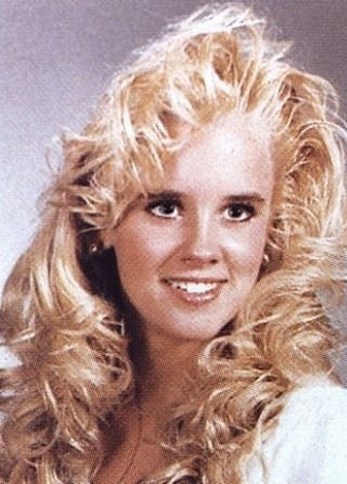 Young Jenny McCarthy yearbook picture