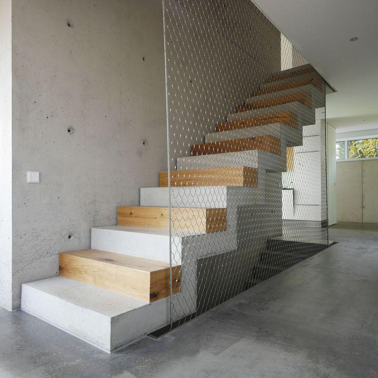 die 25 besten ideen zu moderne treppe auf pinterest modernes treppe design moderne. Black Bedroom Furniture Sets. Home Design Ideas