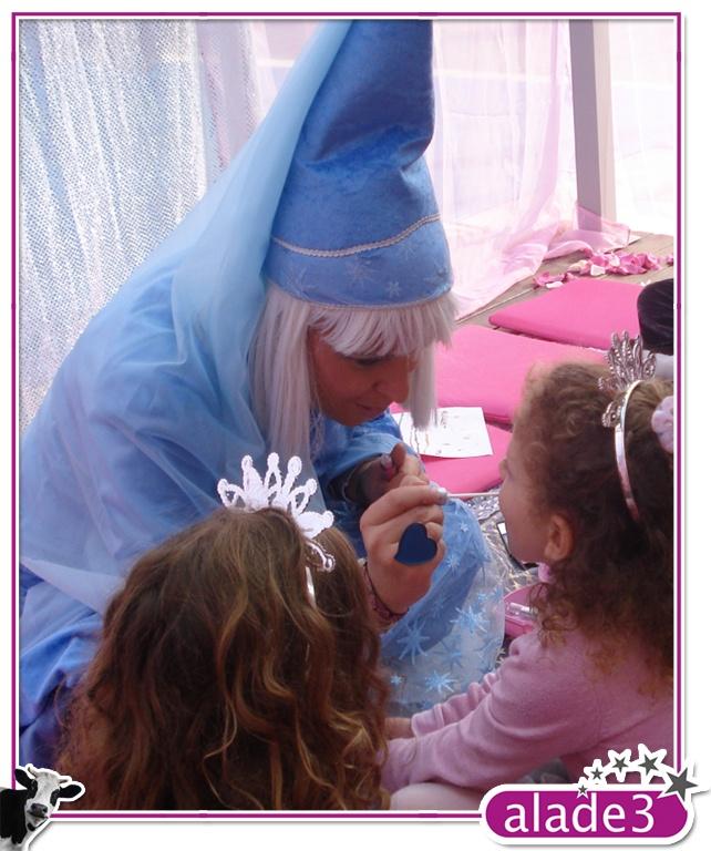 Convirtiendo a las niñas en verdaderas princesitas