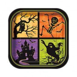 Spooky Halloween - Mit diesen Tellern wird der Gruselparty-Tisch perfekt