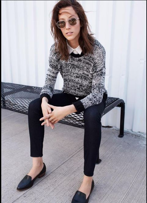 Madewell inspiration--this is one of my work uniforms for the fall/winter
