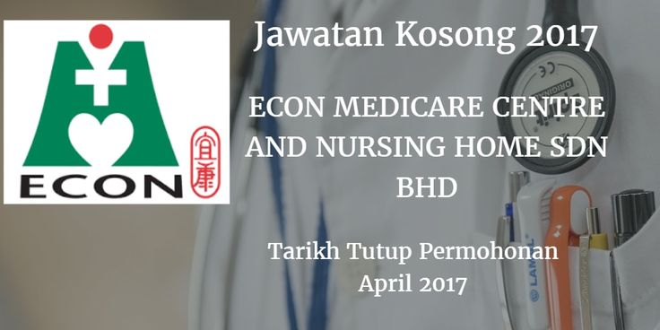 Jawatan Kosong ECON Healthcare Group (EHG) April 2017