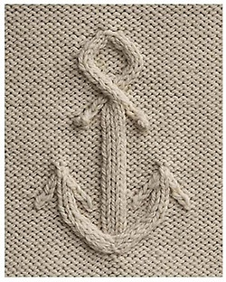 Anchors & Knit <3 two loves !
