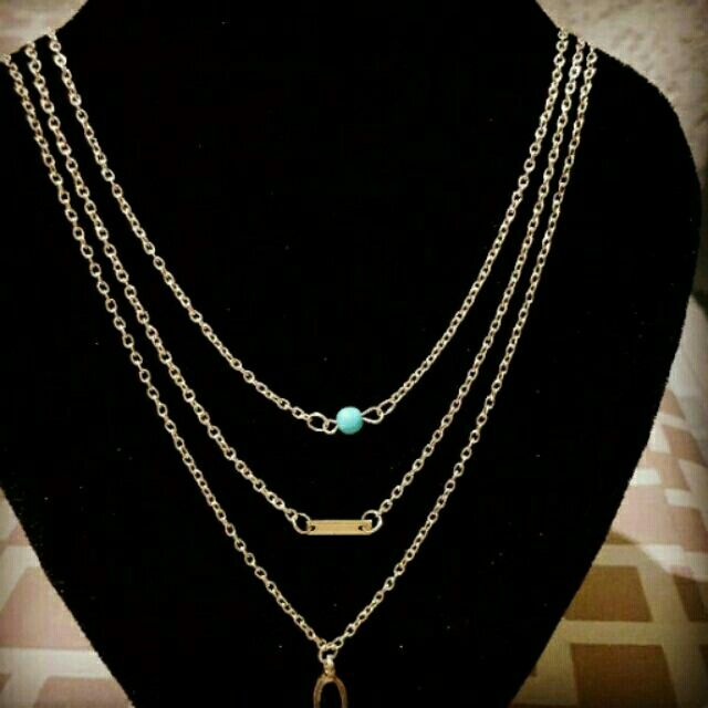 I'm selling Layered Necklace for ₱150.00. Get it on Shopee now!http://shopee.ph/tweety19cutie60/4794655 #ShopeePH