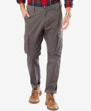 Dockers Athletic Fit Good Cargo Pants - Gray 32x32