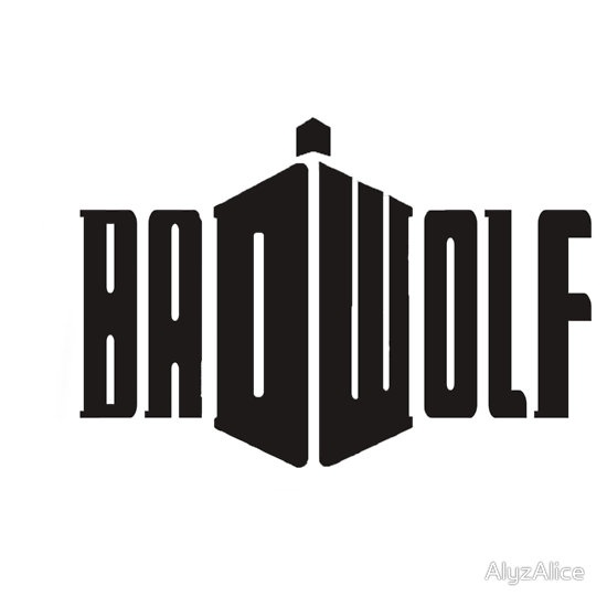 Bad Wolf T-Shirts & Hoodies by AlyzAlice | Redbubble - doctor who shirt -