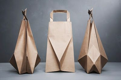 World of Driftwood: Paper bags by Ilvy Jacobs