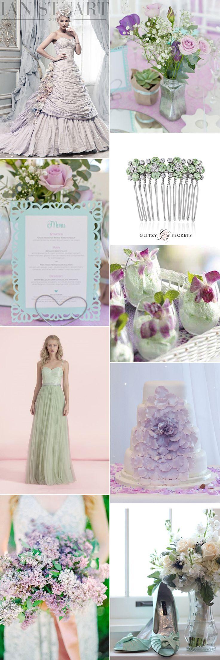 Fabulous Mint Green And Lilac Wedding Ideas On GS Inspiration   Glitzy  Secrets