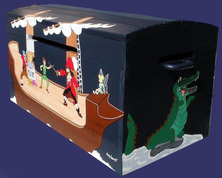 les 25 meilleures id es de la cat gorie coffre jouets peint sur pinterest chambre gar ons. Black Bedroom Furniture Sets. Home Design Ideas