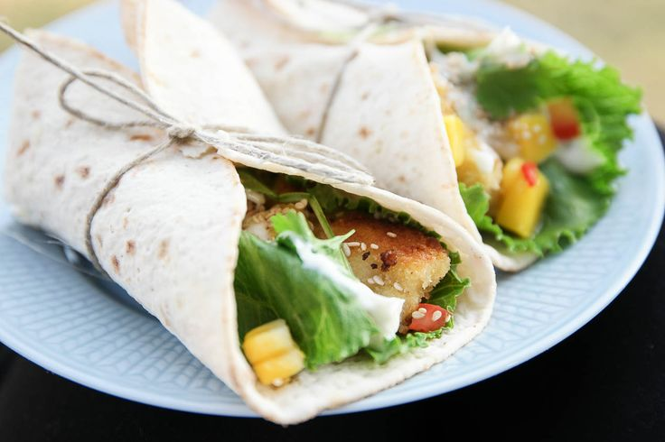 Bambi - Fish Tacos till hemmakvällen – med Fazer Tunna Rotfruktsbröd