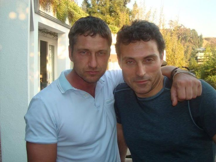 rufus sewell and Gerald Butler - does it get any better than this