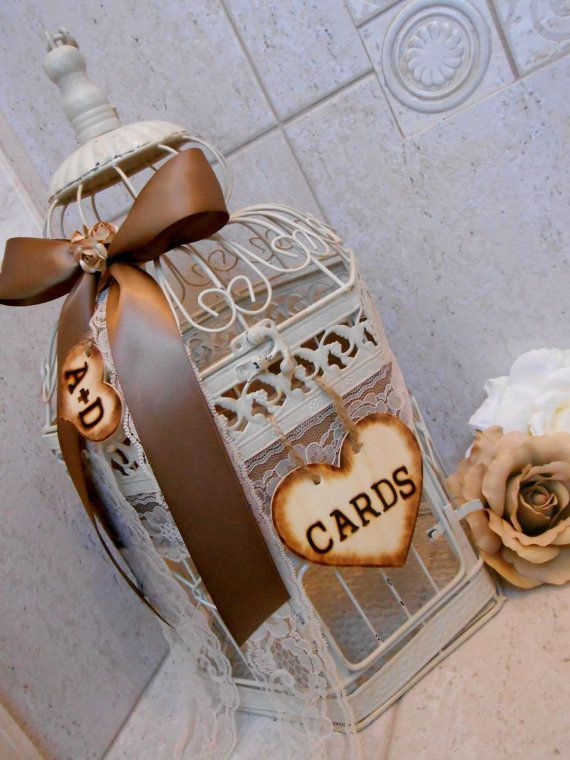 Best 25 Birdcage card holders ideas – Large Wedding Card Box