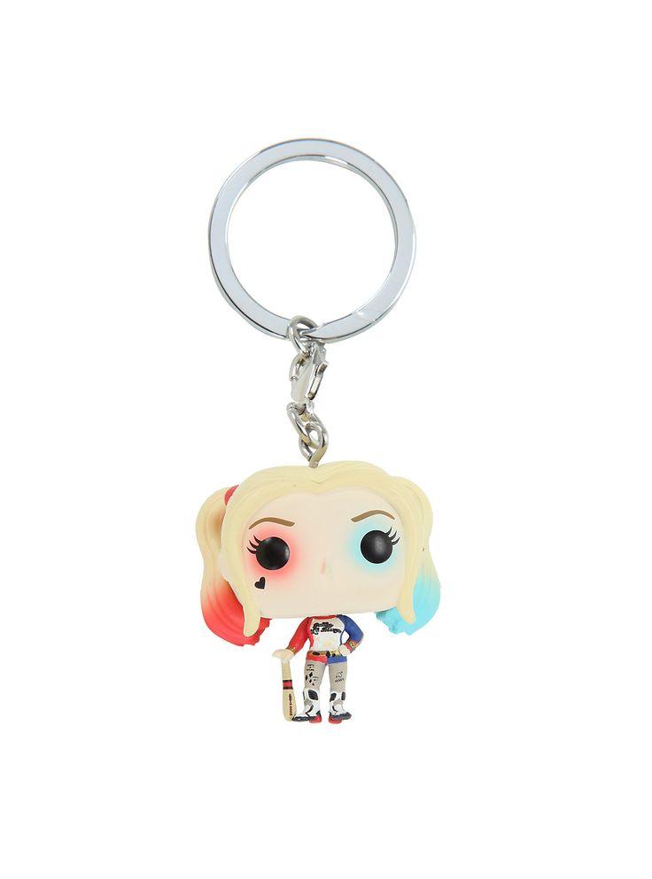 Funko Suicide Squad Harley Quinn Pocket POP! Key Chain,