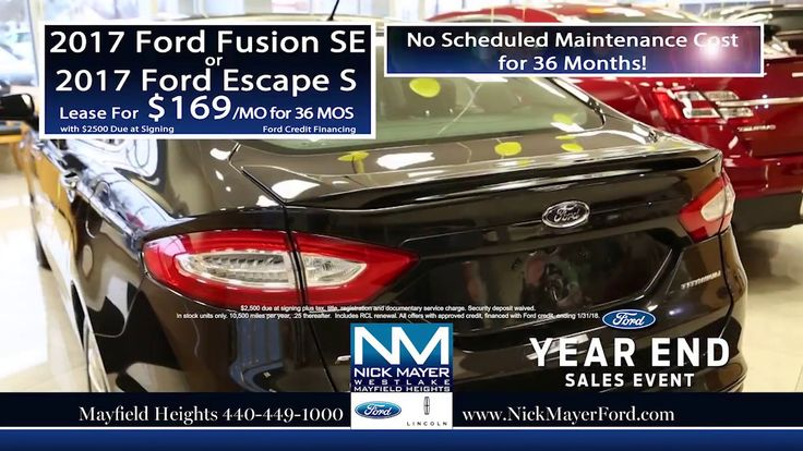 Best Deals When You Lease a New Ford Escape Mentor OH - All of Northeast...