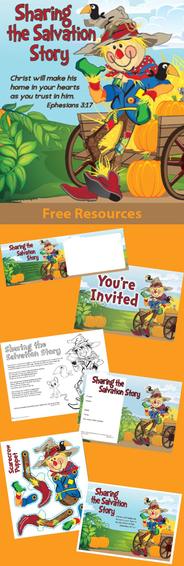 best images about fall festival and thanksgiving invitations flyers puppet patterns more from cta use at christian childrens ministry events fall festivals trunk or treats