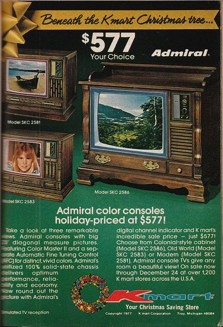 Do you remember when we used to have make room in the living room for these televisions?