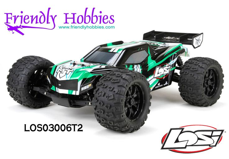 Losi 1/10 TEN-MT 4WD RTR with AVC® Blue, Green - $399.99