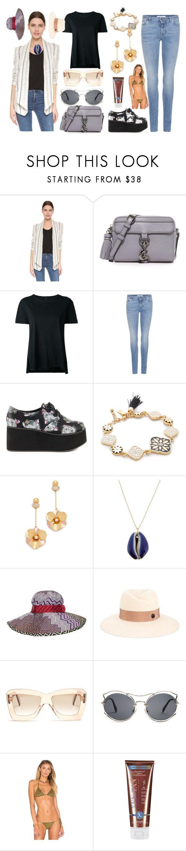 """Fashion things"" by gadinarmada-1 ❤ liked on Polyvore featuring Rebecca Minkoff, Nobody Denim, Givenchy, Iron Fist, Kate Spade, Aurélie Bidermann, Missoni, Maison Michel, Roksanda and Miu Miu"