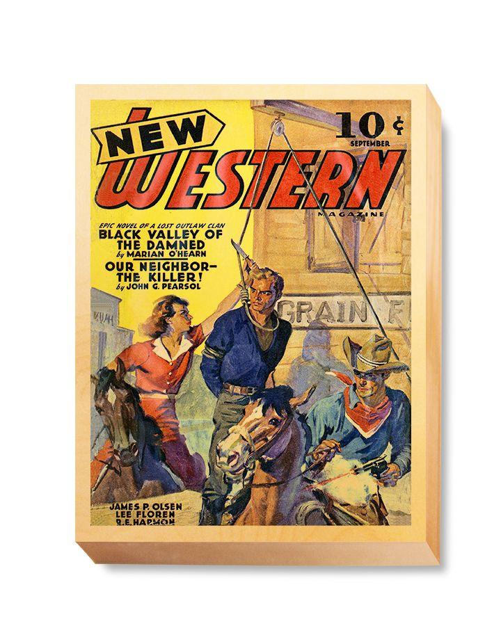 WES 017 Western Comic New Western